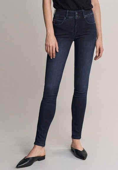 Salsa Skinny-fit-Jeans »Secret« Push In, Skinny, in dunklem Denim
