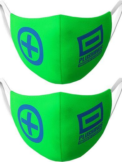Chiemsee Mund-Nasen-Maske »für Jungs«, (Packung, 2-tlg)