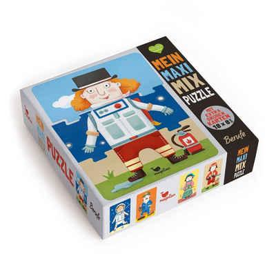 Magellan Puzzle »Mein Maxi-Mix-Puzzle - Berufe«, 24 Puzzleteile, Hergestellt in Europa