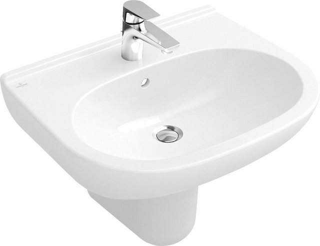 Waschtische - Villeroy Boch Waschbecken »O.novo«, mit CeramicPlus Beschichtung und Überlauf  - Onlineshop OTTO