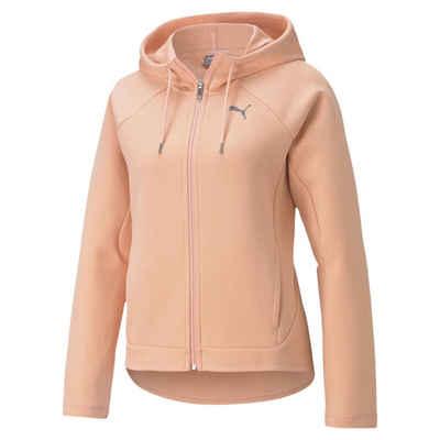 PUMA Sweater »Evostripe Damen Kapuzenjacke«