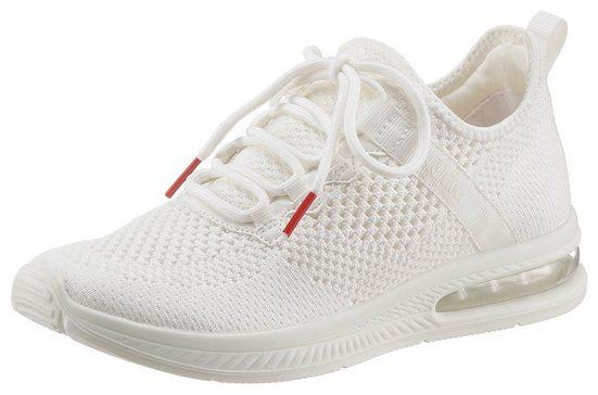 s.Oliver Slip-On Sneaker mit aufgesetzter Schnürung