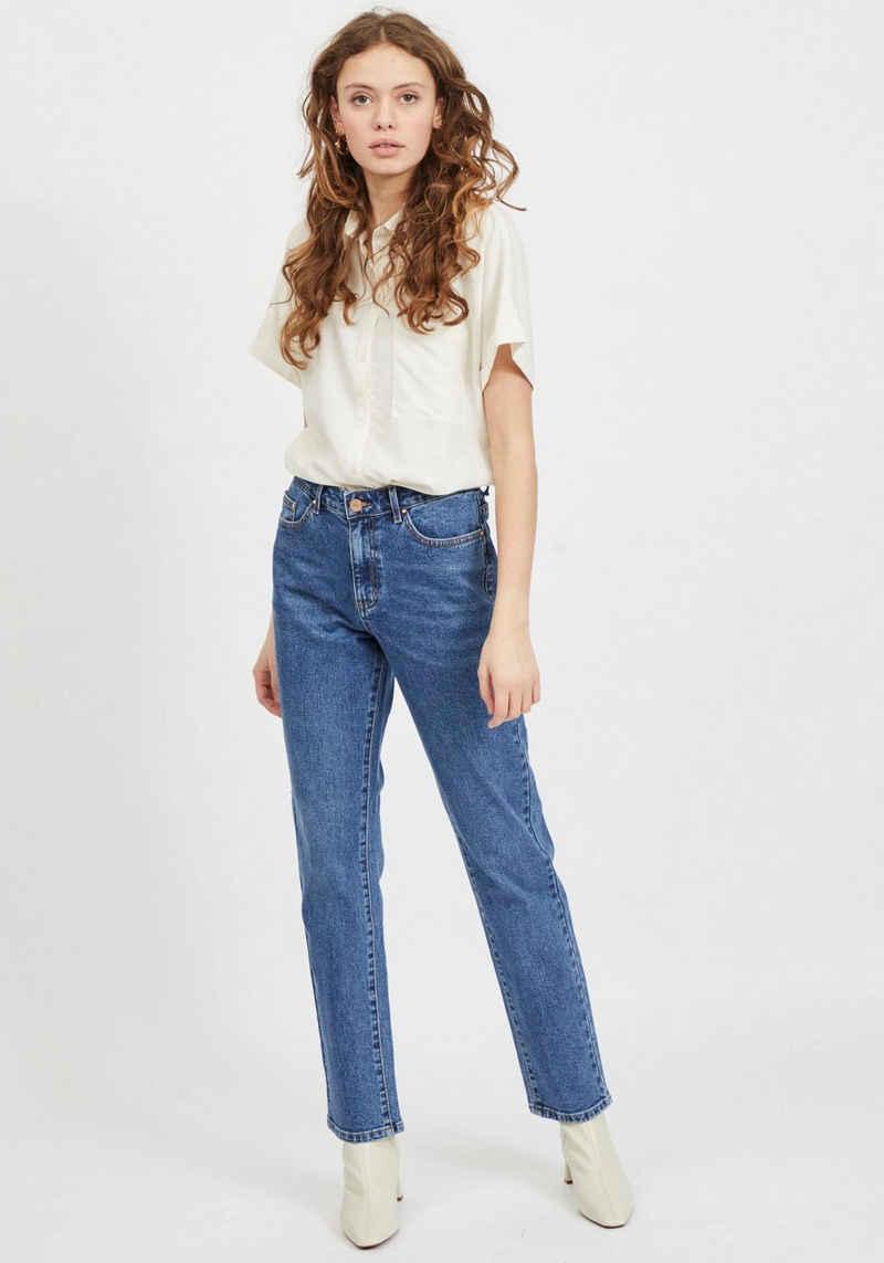 Vila 5-Pocket-Jeans »VISTRAY STRAIGHT« high waisted