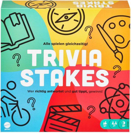 Mattel games Spiel, »Trivia Stakes«