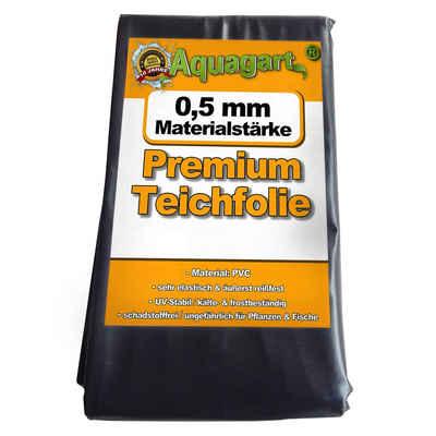 Aquagart Bodenschutzvlies »Teichfolie PVC 5m x 4m 0,5mm schwarz Folie für den Gartenteich«