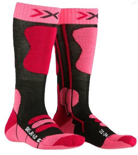 X-Socks Skisocken »X-SOCKS Kinder Snowboard-Strümpfe atmungsaktive Socken mit Spitzentechnologie Ski Junior 4.0 Winter-Strümpfe Pink«