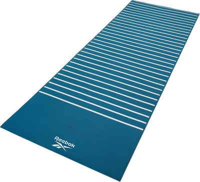 Reebok Yogamatte »Reebok Yogamatte mit Streifen- beidseitig, rutschfest«