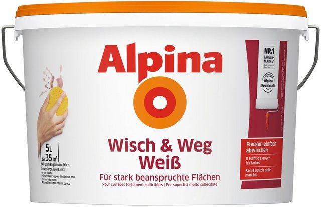 Alpina Wisch und Weg Weiss