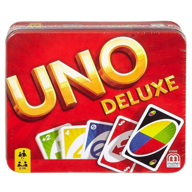 Mattel® Spiel, »Mattel K0888 - UNO - Kartenspiel in Metall-Box, UNO Deluxe«