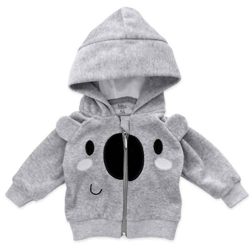 Baby Sweets Shirt, Strampler, Jäckchen, Mütze & Schühchen »3tlg Set Baby Koala« (3-tlg)