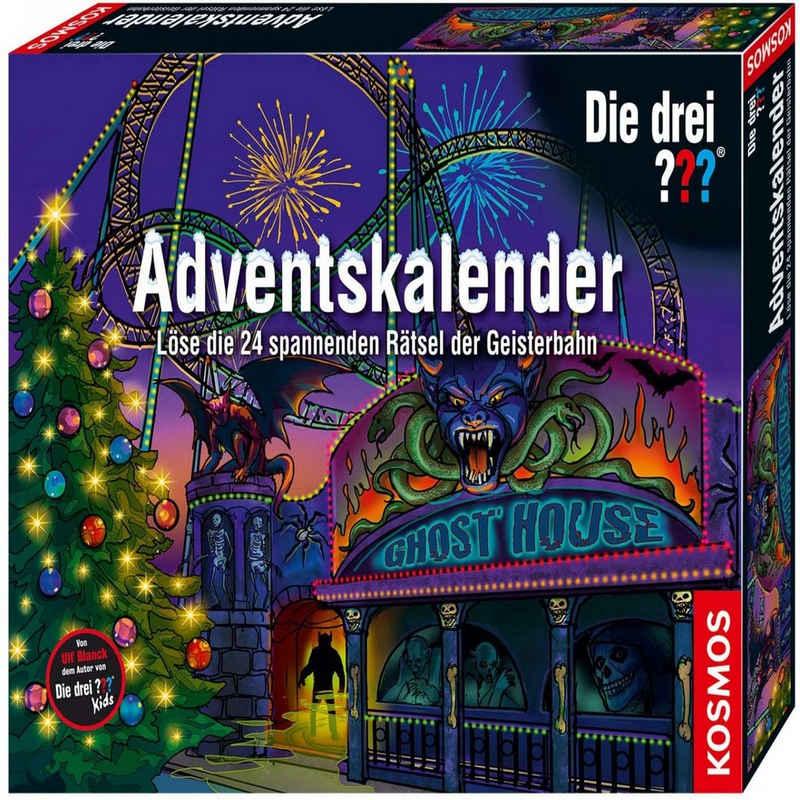 Kosmos Lernspielzeug »Adventskalender Die drei Rätsel der Geisterbahn«