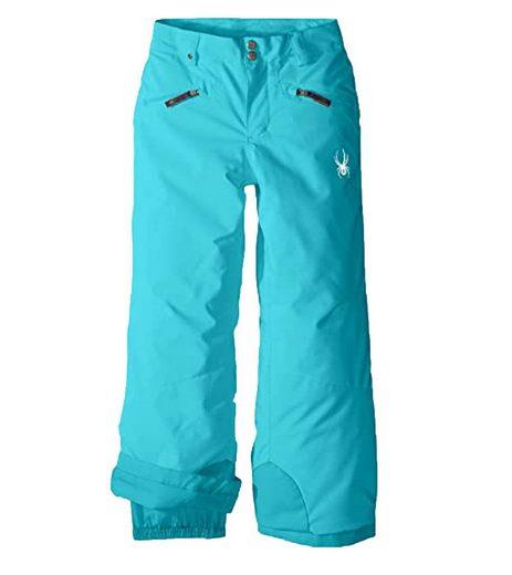 Spyder Skihose »SPYDER Vixen Skitourenhose für Kinder warmhaltende Ski-Hose mit 3M Thinsulate Insulation Winter Skisport Blau«