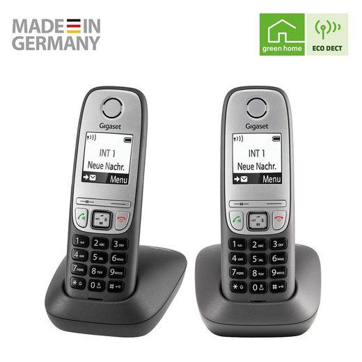 Gigaset »Gigaset Comfort DUO« Schnurloses DECT-Telefon