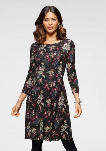 Laura Scott Jerseykleid mit modischem Allover-Print - NEUE FARBEN