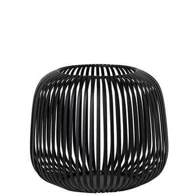 BLOMUS Laterne »LITO Schwarz Small H 17 cm; Modernes Indoor Windlicht«