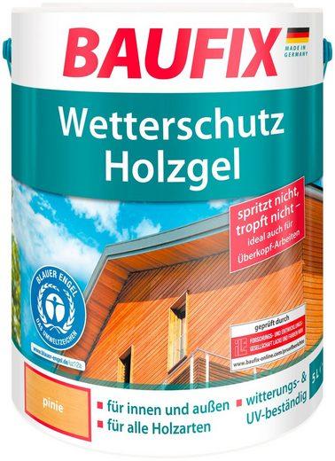Baufix Holzschutzlasur »Pinie«, 5 Liter, braun