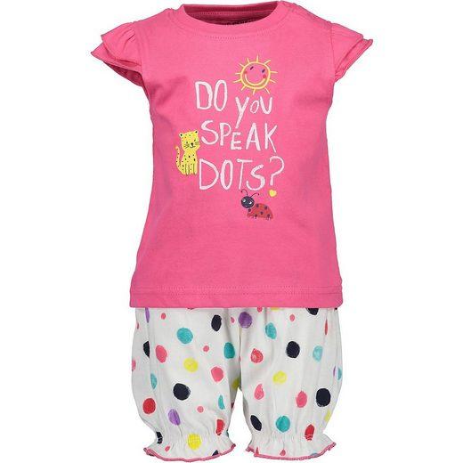 Blue Seven T-Shirt »Baby Set T-Shirt+Shorts für Mädchen«