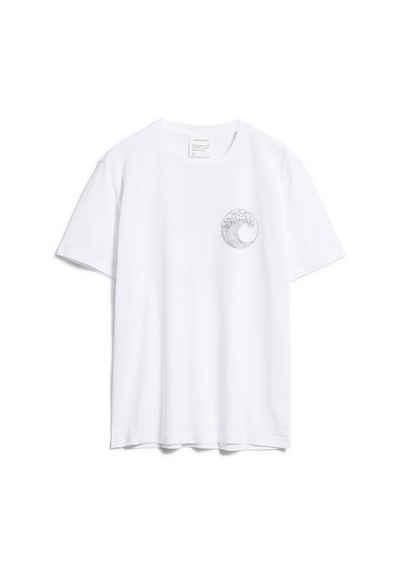 Armedangels Print-Shirt »AADO SAVE OUR OCEAN Herren« (1-tlg)