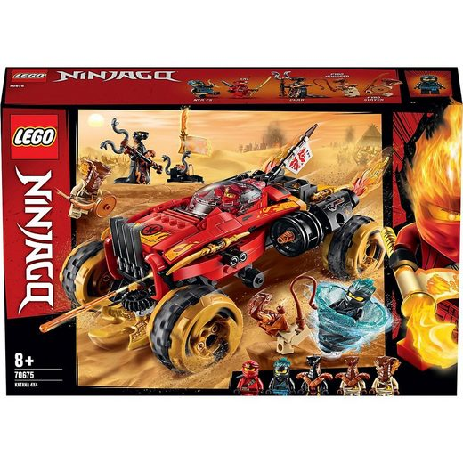 LEGO® Konstruktions-Spielset »LEGO® NINJAGO® 70675 Katana 4x4«