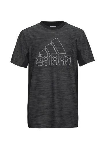 adidas Performance Trainingsshirt »BOYS AEROREADY HEATHER TEE«