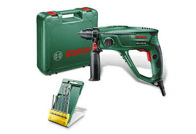 BOSCH Bohrhammer »PBH 2100 RE«, 230 V, max. 2300 U/min, inkl. 6-tlg. Bohrer-Set