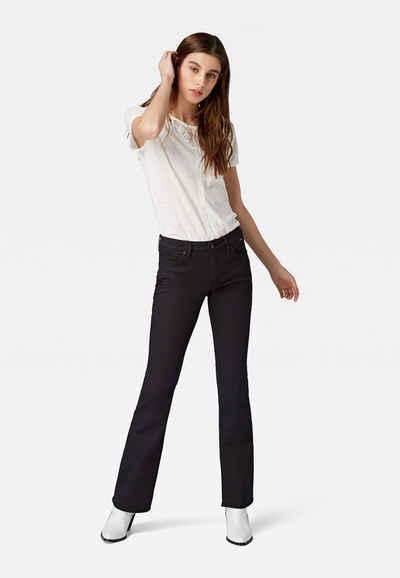 Mavi Bootcut-Jeans »BELLA MID-RISE« schmale Bootcut