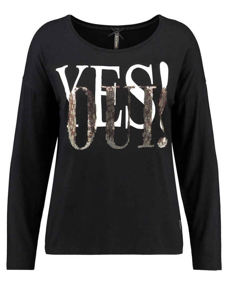 Key Largo T-Shirt »Damen Langarmshirt WLS ANSWER ROUND«