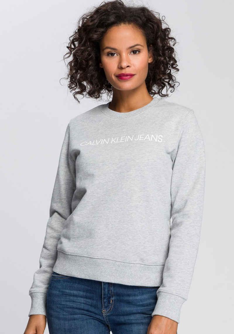 Calvin Klein Jeans Sweatshirt mit Calvin Klein Jeans Logo-Schriftzug