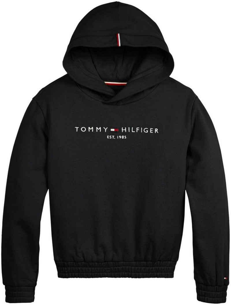 Tommy Hilfiger Kapuzensweatshirt »ESSENTIAL HOODIE« mit Gummizug