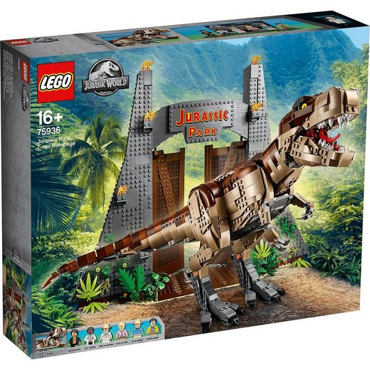 LEGO® ® 75936 Jurassic World™: Jurassic Park - T. Rex' Verwüstung