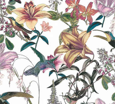 Architects Paper Vliestapete »Jungle Chic«, glatt, floral, botanisch, tropisch, mit Blumen