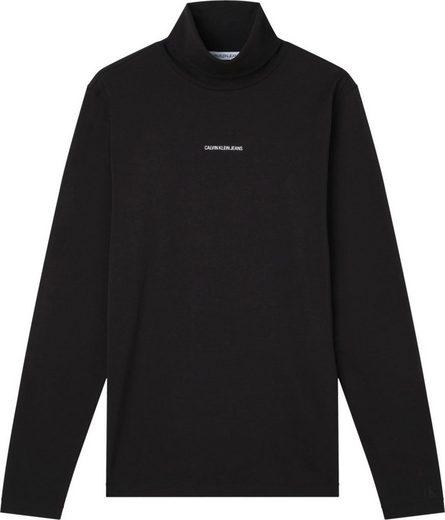 Calvin Klein Jeans Longsleeve »MICRO BRANDING LS POCKET TEE«