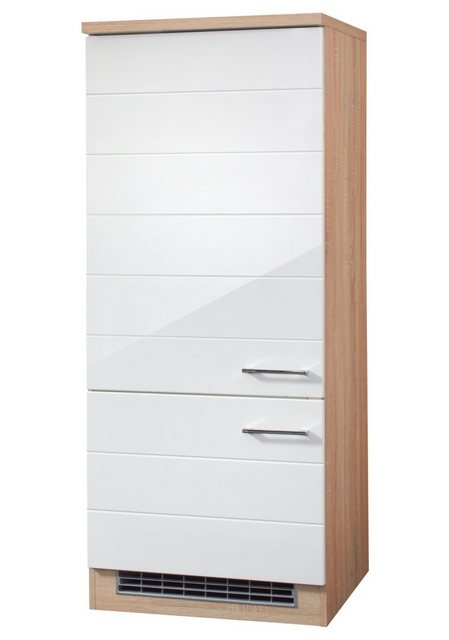 Held Möbel Kühlumbauschrank Emden, Höhe 165 cm