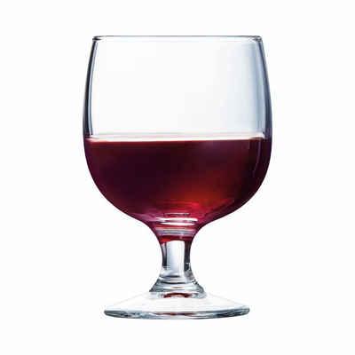 Arcoroc Tumbler-Glas »Amélia«, Glas, Wasserglas Saftglas Stielglas 160ml Glas transparent 12 Stück