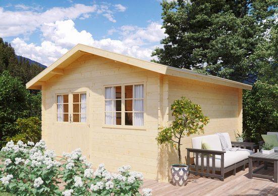 Kiehn-Holz Gartenhaus »Gipsberg 2«, BxT: 437x432 cm, (Set)