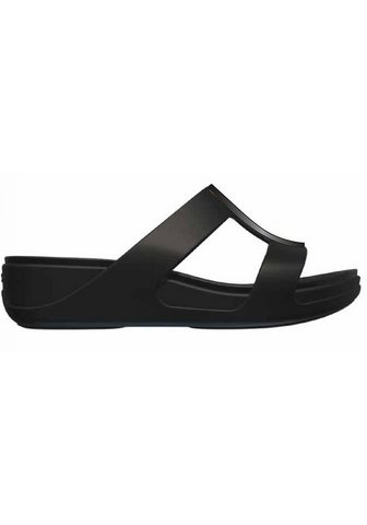 Crocs »Monterey Metallic Wedge« Pantolette s...
