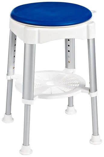 RIDDER Badhocker »Comfort«, höhenverstellbar und mit drehbarer Sitzfläche