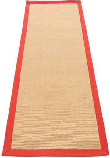 Läufer »Sisal«, carpetfine, rechteckig, Höhe 5 mm