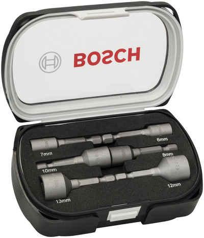 BOSCH Stecknüsse »Steckschlüssel«, Set, 6-St., 50 mm, 6 - 13