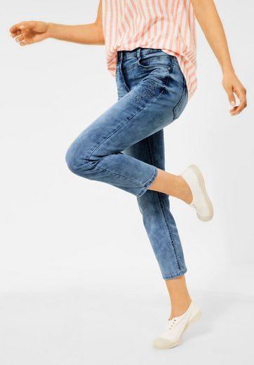 Cecil Slim-fit-Jeans High Waist