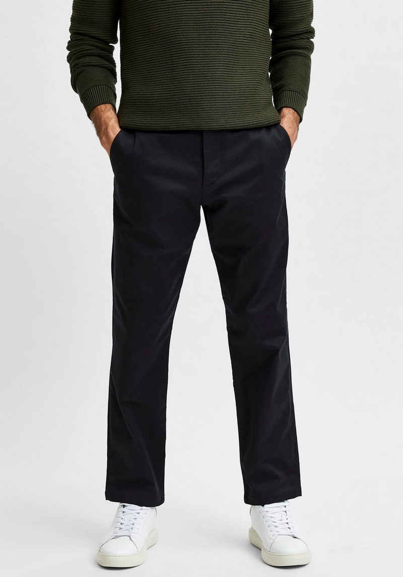 SELECTED HOMME Chinohose »STRAIGHT-STOKE 196 FLEX PANTS«