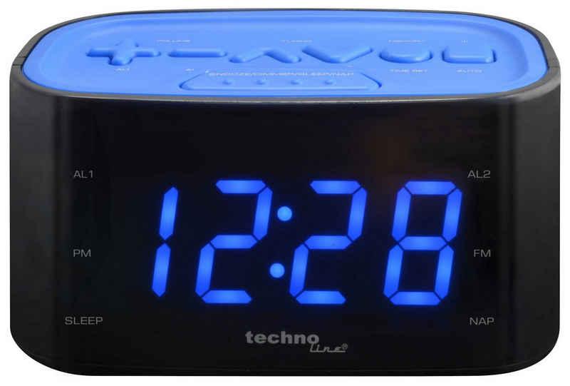 technoline Radiowecker »WT 465« mit Senderspeicher und Sleep-Timer