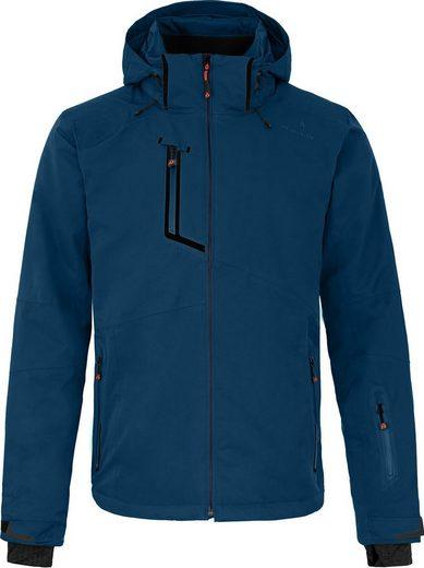 Bergson Skijacke »NANO« wattierte Herren Skijacke mit 20.000er Wassersäule, Kurzgrößen, poseidon blau
