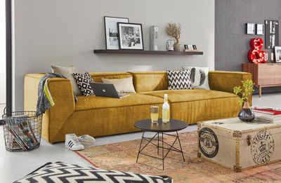 TOM TAILOR Big-Sofa »BIG CUBE«, in 2 Breiten, Tiefe 122 cm
