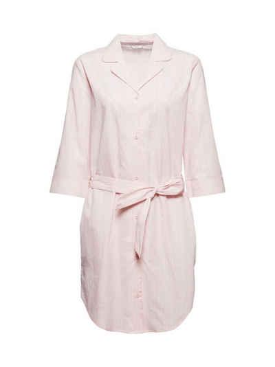 Esprit Nachthemd »Nachthemd mit Streifen, 100% Organic Cotton«
