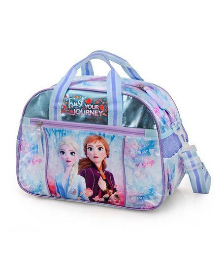 Disney Frozen Sporttasche »Disney´s Die Eiskönigin 2 - Sporttasche, 38x27x17 cm« (Reißverschluss, Mädchen), Geringes-Gewicht