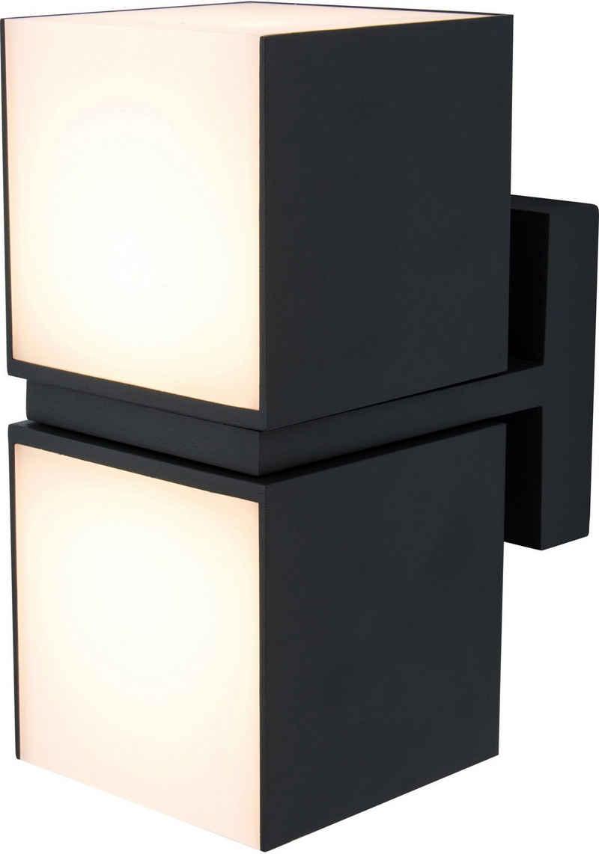 LUTEC LED Außen-Wandleuchte »CUBA 5193801012«