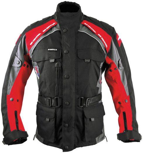 roleff Motorradjacke »Liverpool RO781« 4 Taschen