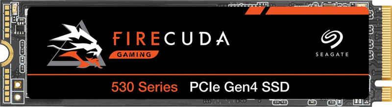 Seagate »FireCuda 530« Gaming-SSD (1 TB) 7.300 MB/S Lesegeschwindigkeit, 6.000 MB/S Schreibgeschwindigkeit, Inklusive 3 Jahre Rescue Data Recovery Services)