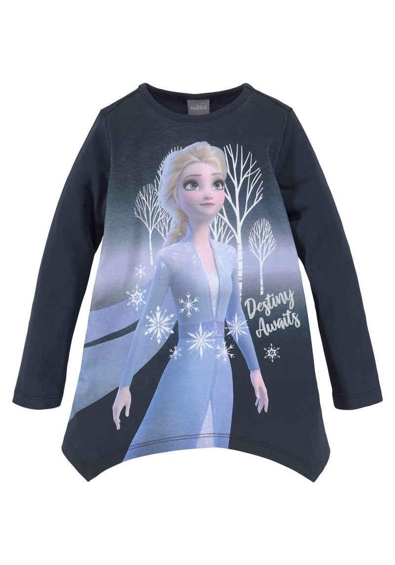 Disney Frozen Langarmshirt »DESTINY AWAITS« in Zipfeloptik